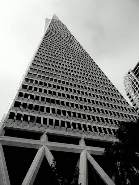 Photograph - San Francisco Tranamerica Tower by Jeff Lowe