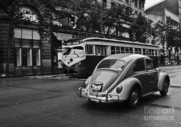 Photograph - San Francisco Vintage Scene by Carlos Alkmin