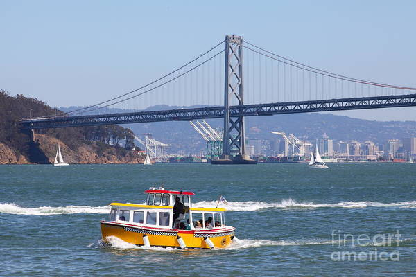 Photograph - San Francisco Water Taxi 5d29438 by Wingsdomain Art and Photography