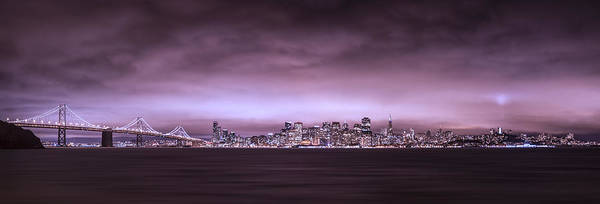 City Scape Photograph - San Fransisco Cityscape Panorama by Brad Scott