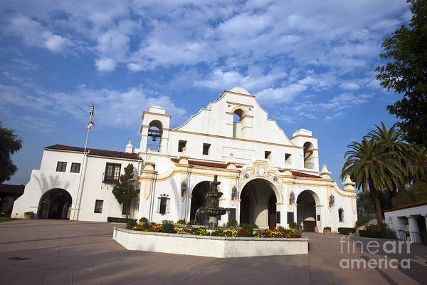 San Gabriel Mission Photograph - San Gabriel Mission Playhouse by Jason O Watson