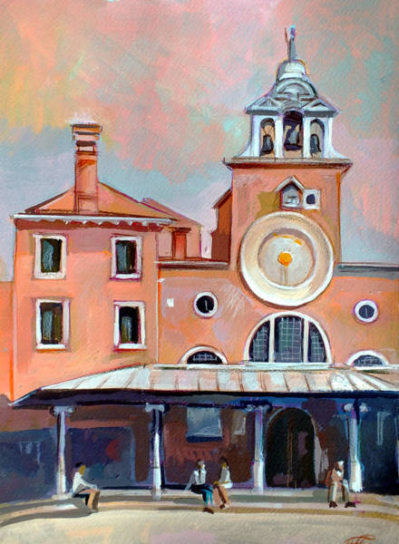 Columns Mixed Media - San Giacomo Di Rialto by Filip Mihail