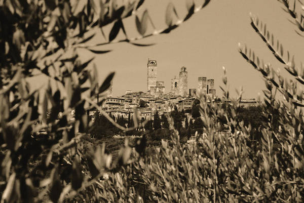 Photograph - San Gimignano II by Nigel Fletcher-Jones