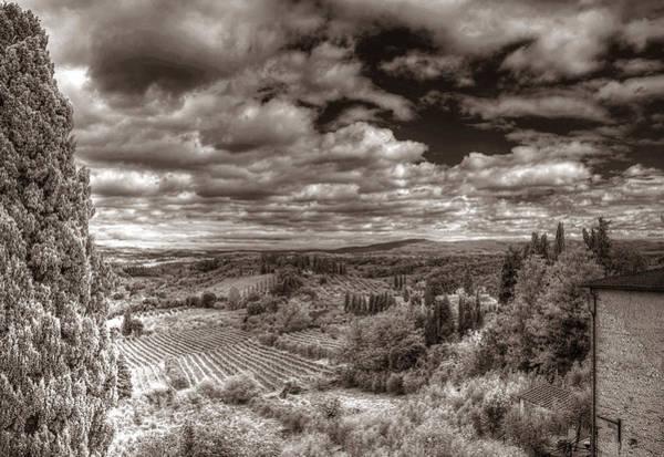 Photograph - San Gimignano View by Michael Kirk
