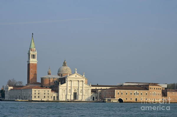 Wall Art - Photograph - San Giorgio Maggiore Church And Canal by Sami Sarkis