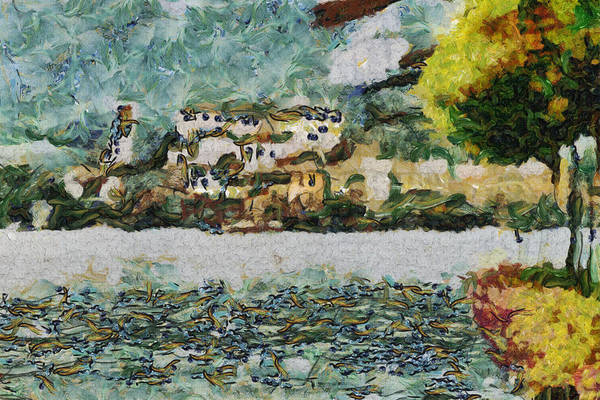 Isola Wall Art - Painting - San Giulio by Inspirowl Design