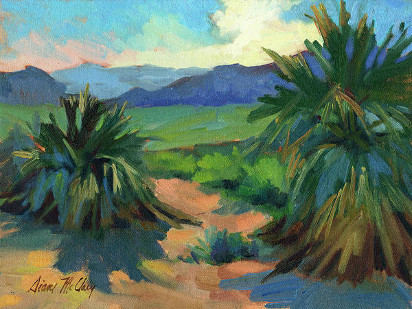 Sierra Nevada Painting - San Jacinto Visitors Center by Diane McClary