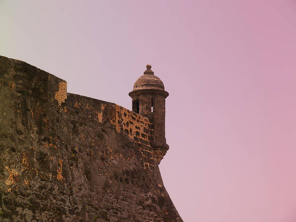 San Juan - City Lookout Post Art Print
