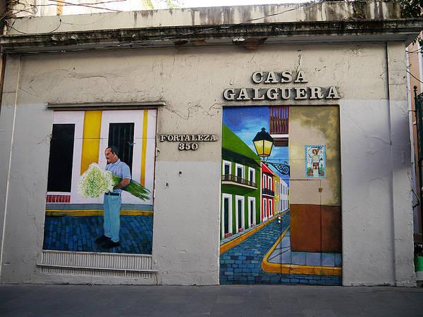San Juan - Casa Galguera Mural Art Print