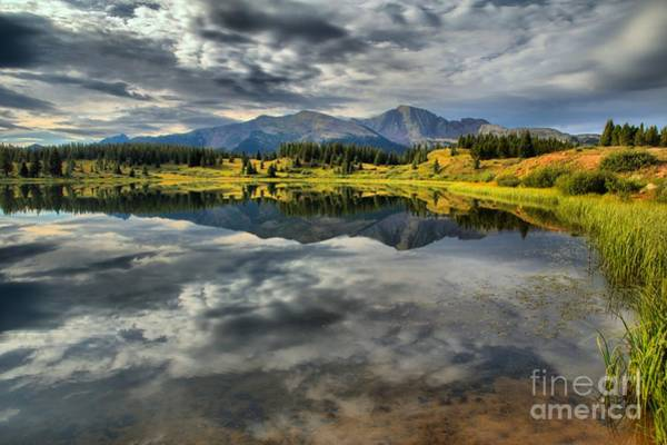 Photograph - San Juan Mountain Reflections by Adam Jewell