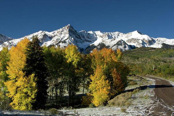 Ridgway Photograph - San Juan Mountains by Carol Polich Photo Workshops