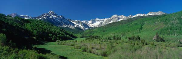Alpine Meadows Photograph - San Juan Mountains Co Usa by Panoramic Images