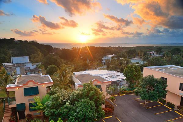 Photograph - San Juan Sunrise by Songquan Deng
