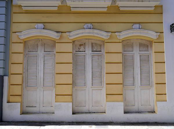 Photograph - San Juan - Three Doors by Richard Reeve