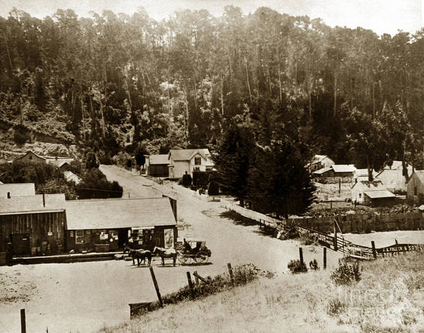 Photograph - Cambrian San Luis Obispo County Circa 1900 by California Views Archives Mr Pat Hathaway Archives