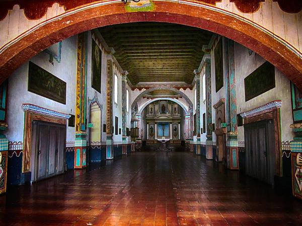 San Luis Rey De Francia Photograph - San Luis Rey Church by Joseph Urbaszewski