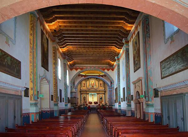 Saint Louis County Photograph - San Luis Rey- Interior by See My  Photos