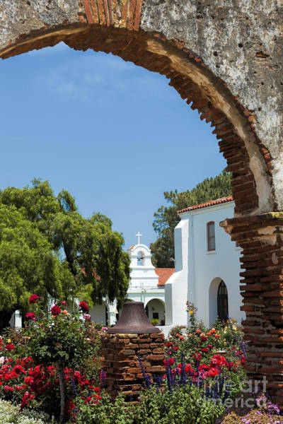 Wall Art - Photograph - San Luis Rey - Mission Church by Sandra Bronstein