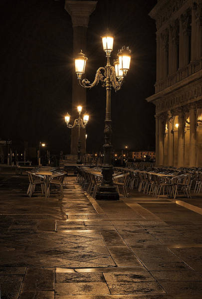 Wall Art - Photograph - San Marco Cafe by Marion Galt