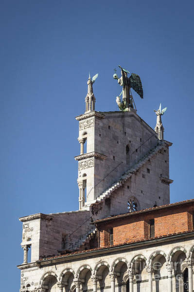 Photograph - San Michele In Foro Back Side by Prints of Italy