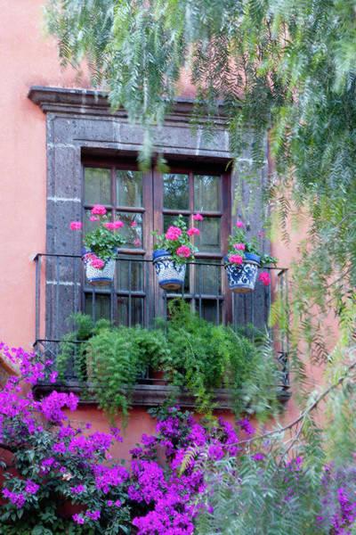Aesthetic Photograph - San Miguel De Allende, Window by Alice Garland
