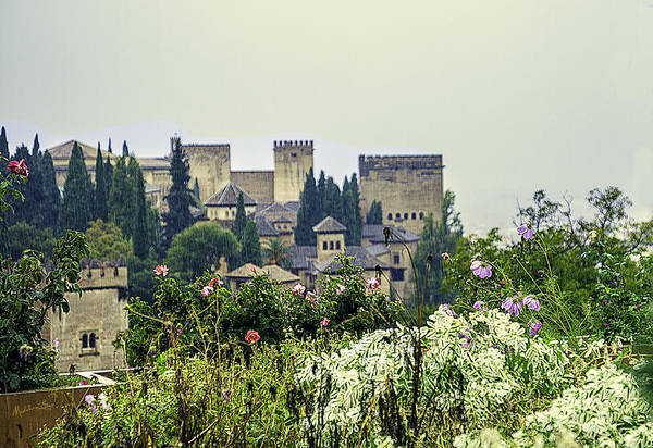 Wall Art - Photograph - San Nicolas View Of The Alhambra - Spain by Madeline Ellis