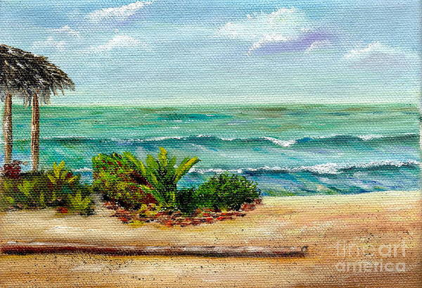Painting - San Onofre Beach by Mary Scott