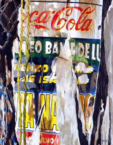 Coca Cola Painting - San Pancho by Michael Ward