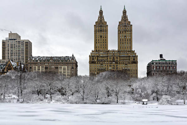 Photograph - San Remo Towers Central Park Nyc by Susan Candelario