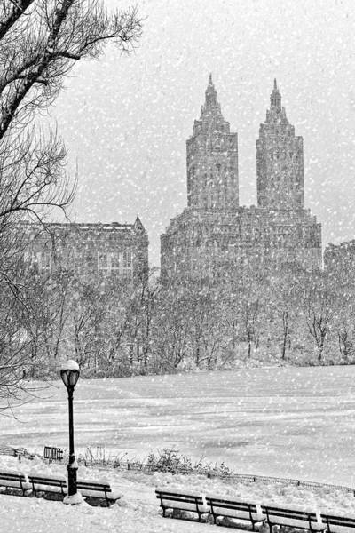 Photograph - San Remo Towers Snow by Susan Candelario