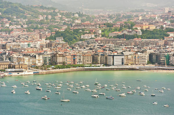 San Sebastian Photograph - San Sebastian, Basque Country, Spain by John Harper