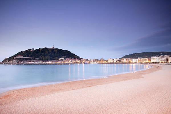 San Sebastian Photograph - San Sebastian Beach by Marcaux