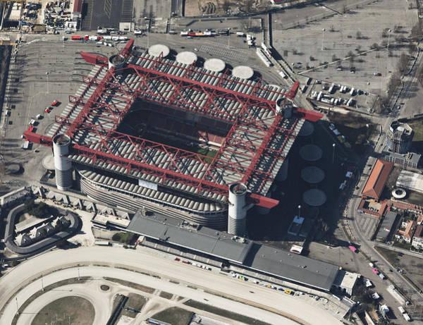 Italian Football Wall Art - Photograph - San Siro Stadium, Milan by Blom ASA