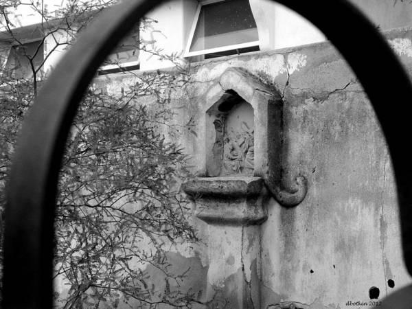Misson Photograph - San Xavier Detail 2 by Dick Botkin