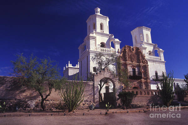 Photograph - San Xavior Del Bac by Paul W Faust -  Impressions of Light