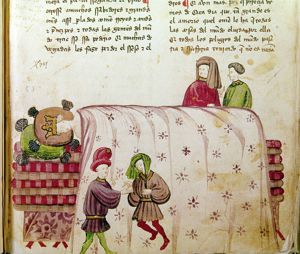 Wall Art - Painting - Sancho Iv (1257-1295) by Granger