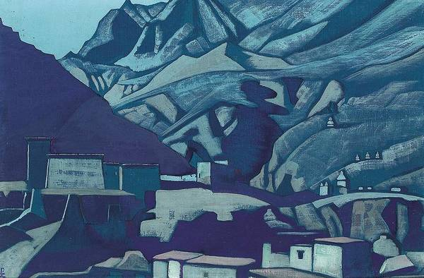 Nk Roerich Painting - Sanctuaries And Citadels by Nicholas Roerich