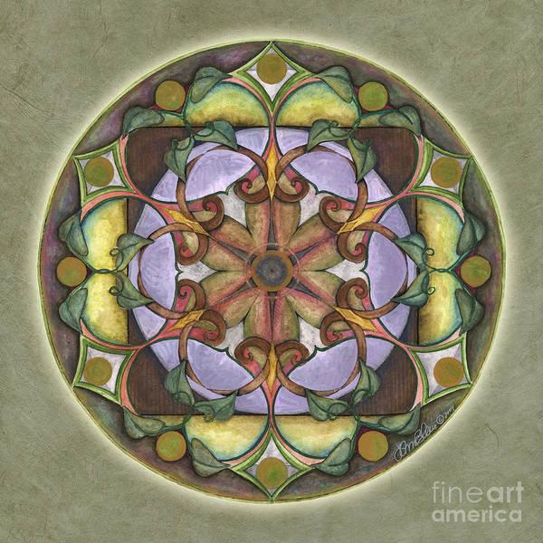 Painting - Sanctuary Mandala by Jo Thomas Blaine