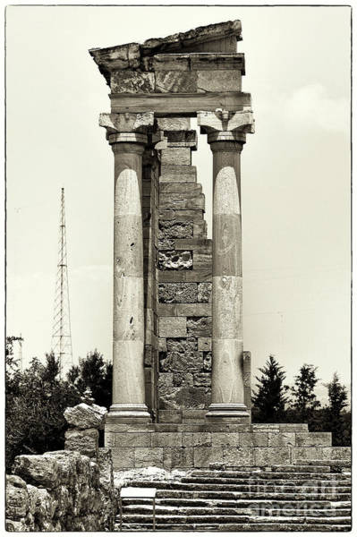 Wall Art - Photograph - Sanctuary Of Apollo Hylates by John Rizzuto