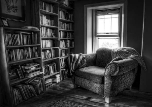 Book Shelf Photograph - Sanctuary by Scott Norris