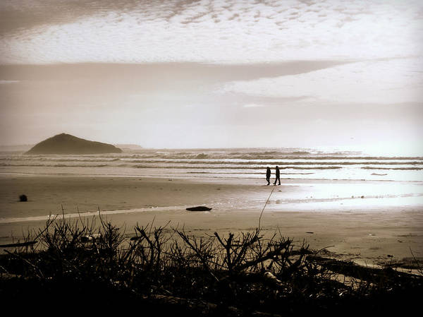 Photograph - Sand And Silhouettes by Micki Findlay