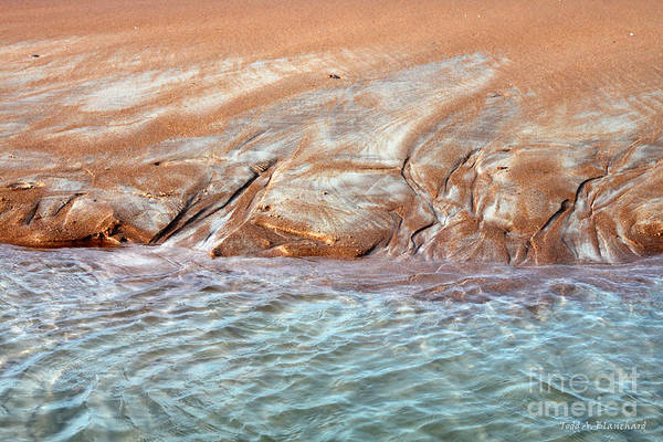 Photograph - Sand Art No. 3 by Todd Blanchard