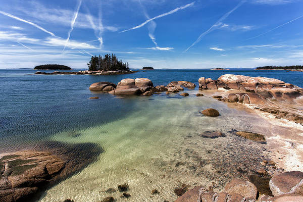 Stonington Photograph - Blue Maine Day by Don Seymour