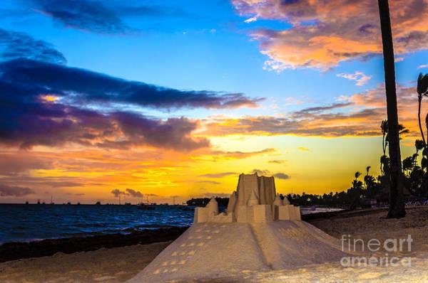 Evening Wall Art - Photograph - Sand Castle 1 by Viktor Birkus