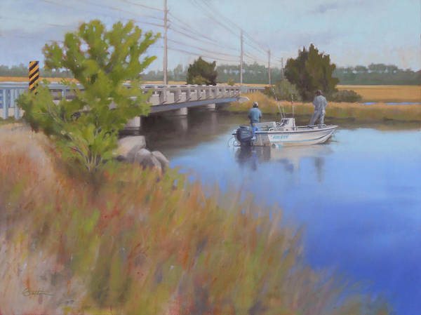 Sand Creek Painting - Sand Creek by Todd Baxter
