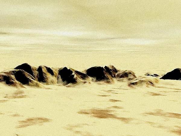 Painting - Sand Desert by Anastasiya Malakhova