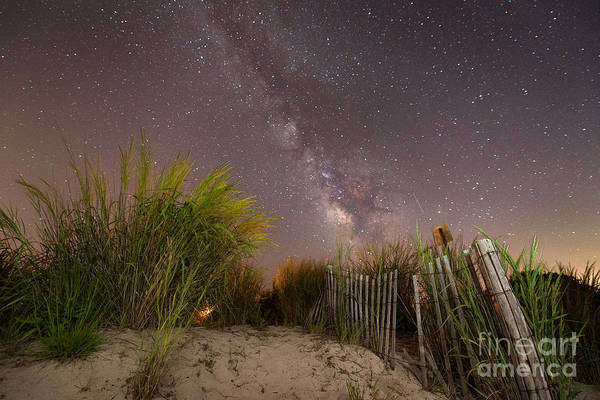 Awe Photograph - Sand Dune Milky Way by Michael Ver Sprill