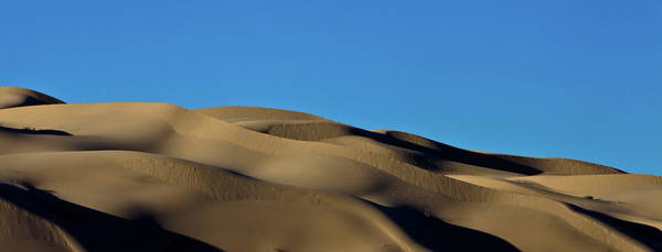 Yuma Photograph - Sand Dunes Near Yuma, Az by Lightstage Photography