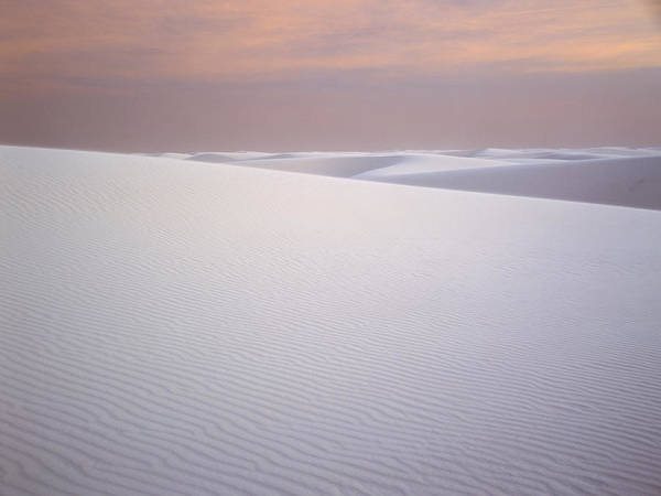 Chihuahuan Desert Photograph - Sand Dunes Of Gypsum In The Morning by Panoramic Images