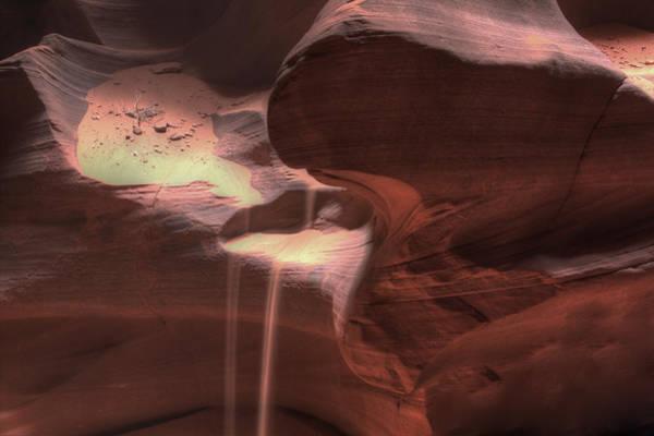 Photograph - Antelope Canyon Sand Flow by Jonathan Davison